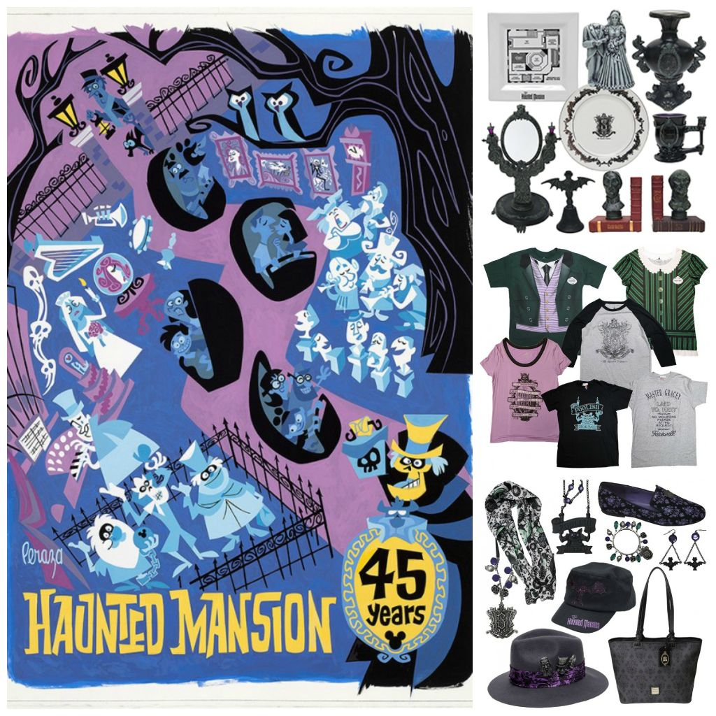 Haunted Mansion 45th anniversary
