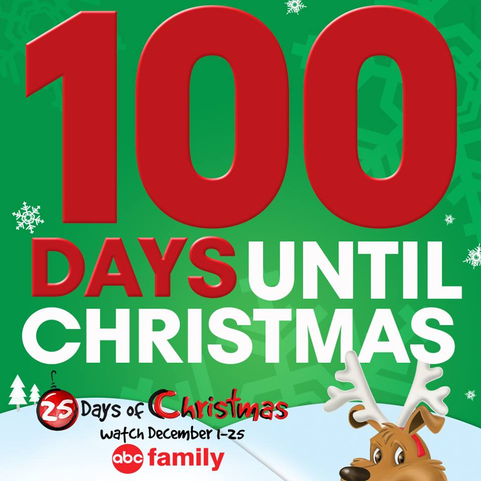 abc familys 100 days til christmas too soon or not soon enough - Abc 25 Days Of Christmas Schedule 2014