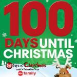 100 days til christmas