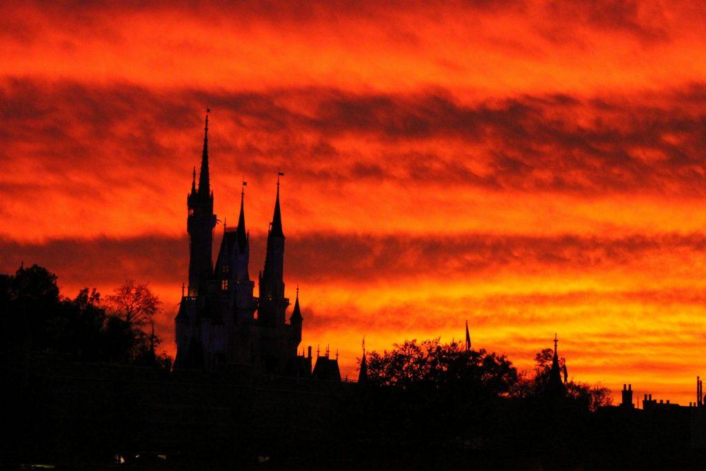 Castle Sunset - Wordless Wednesday