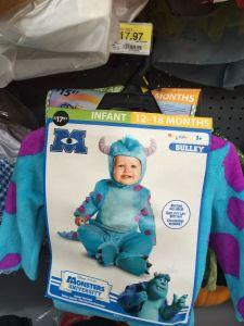 Baby Sully Costume at Wal-Mart