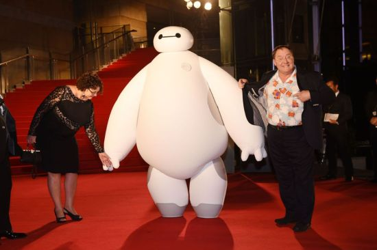 """Nancy Lasseter and Chief Creative Officer of Walt Disney and Pixar Animation Studios - John Lasseter arrive at the """"Big Hero 6"""" Japan premiere during the 27th Tokyo International Film Festival at Roppongi Hills on October 23, 2014 in Tokyo, Japan.  (Photo by Atsushi Tomura/Getty Images for Disney)"""