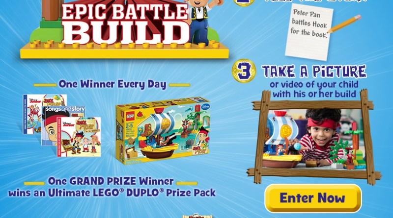 Epic Battle Build Jake Neverland pirates