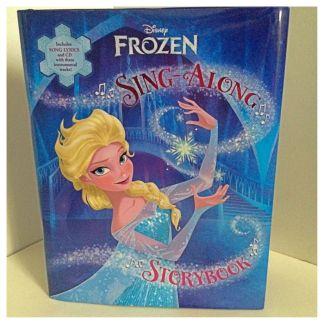 Frozen Sing Along Book