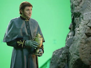 """Tyler Jacob Moore debuts in this episode as Hans, the villains from """"Frozen."""""""