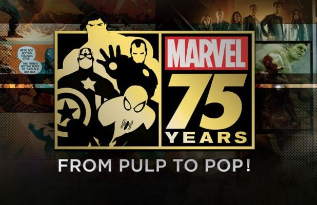 marvel 75 years from pulp to pop