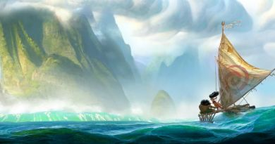 MOANA First Look Concept Art