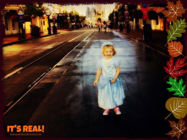 little princess Main Street USA