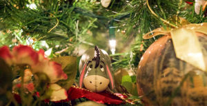 Eeyore Christmas ornament