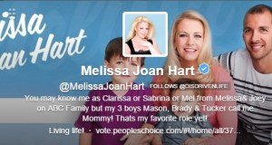 Melissa Joan Hart follows the DDL