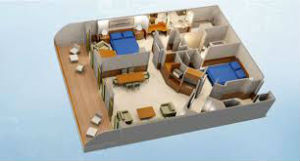 DCL Two Bedroom Layout