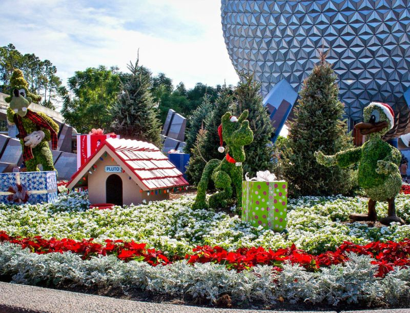 Christmas Topiary!