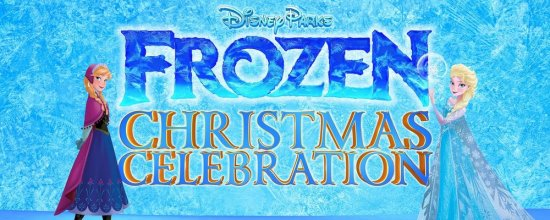 frozen christmas celebration