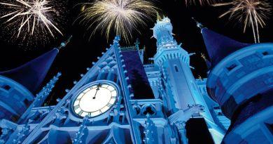 Cinderella Castle - fireworks