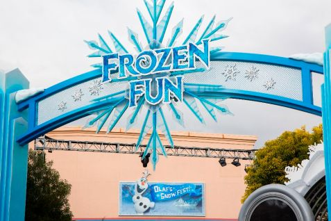 New 'Frozen Fun' at the Disneyland Resort (Paul Hiffmeyer/Disneyland)