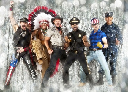 """The Village People. How can you resist doing the """"Y.M.C.A"""" in Epcot?"""