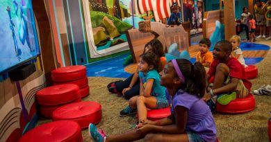 Child-Sized Fun in Lilo's Playhouse at Disney's Polynesian Village Resort