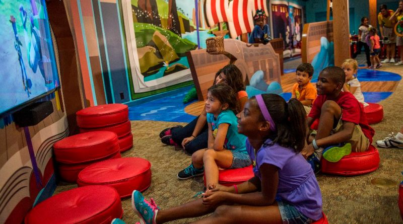 Child-Sized Fun in Lilo's Playhouse at Disney's Polynesian Village Resort