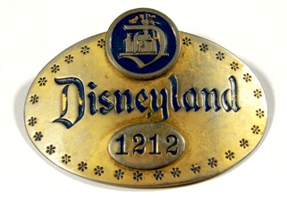 Walt Disney Cast Member 1st Year Badge