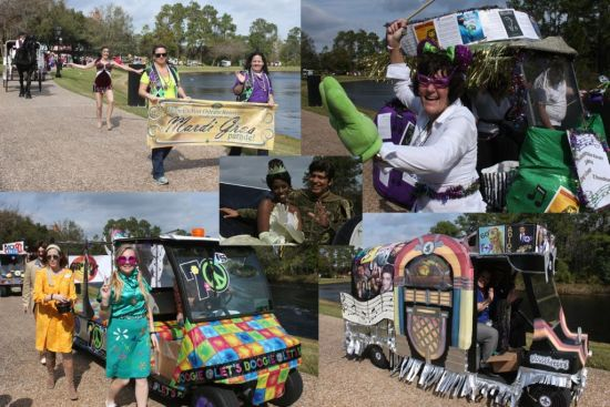 Port Orleans Mardi Gras Parade - Wordless Wednesday