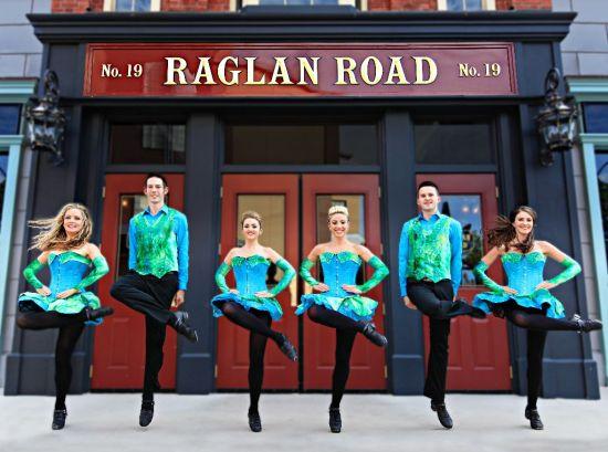 St. Patrick's Day at Raglan Road Irish Pub & Restaurant in Downtown Disney