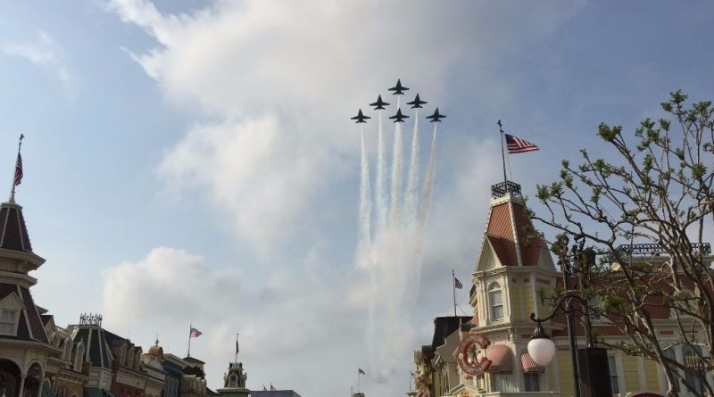 Blue Angels Fly Over 2015