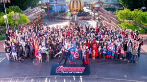 Marvel Avengers Age of Ultron Disneyland event