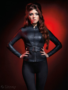Her Universe Black Widow Belted Jacket