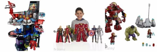 Marvel Age of Ultron Merchandise