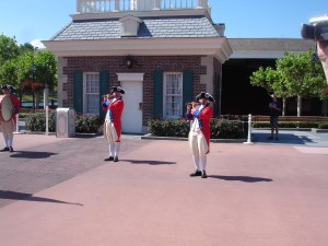 EPCOT Spirit of America Fife players