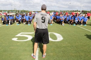 drew brees passing academy