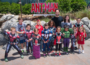 Paul Rudd AntMan Disneyland