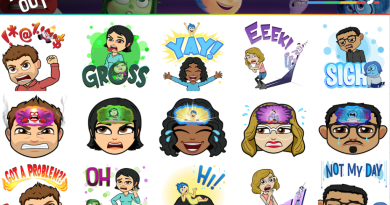 bitmoji theme pack Inside Out
