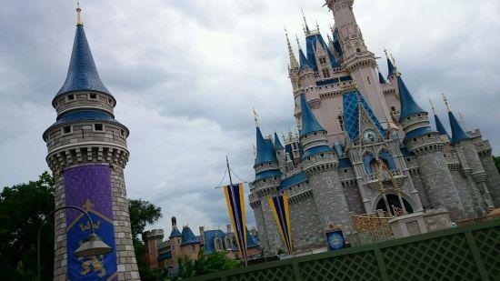 cinderella castle turrets wordless wednesday