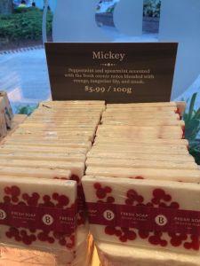 Basin Holiday Soap - Mickey Peppermint