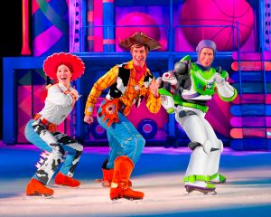 Jessie, Woody and Buzz Lightyear Disney on Ice 100 years