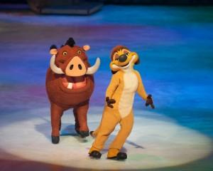 Timon & Pumbaa Disney on Ice 100 years