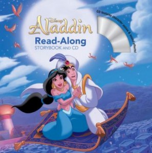 Aladdin read along story & cd