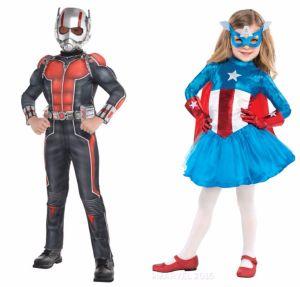 Marvel Costume collage