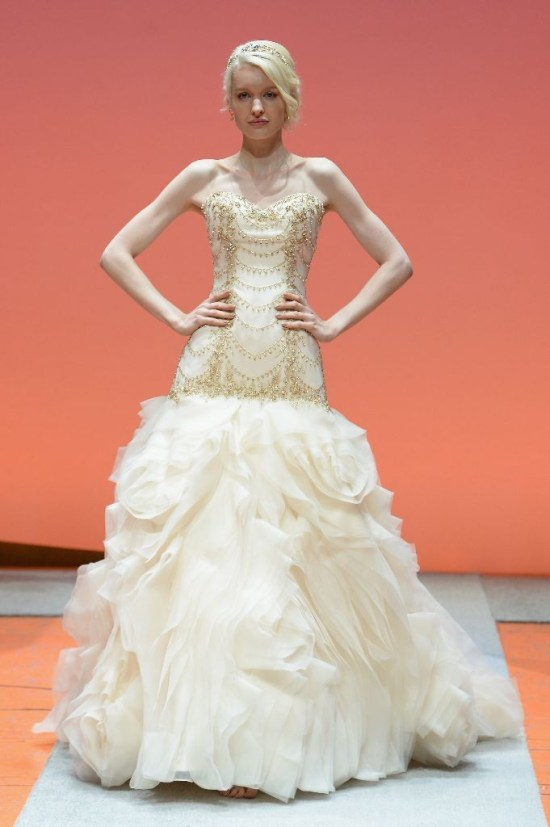 2016 Alfred Angelo Disney Fairy Tale Weddings Bridal Collection Fashion Show Debut Ariel