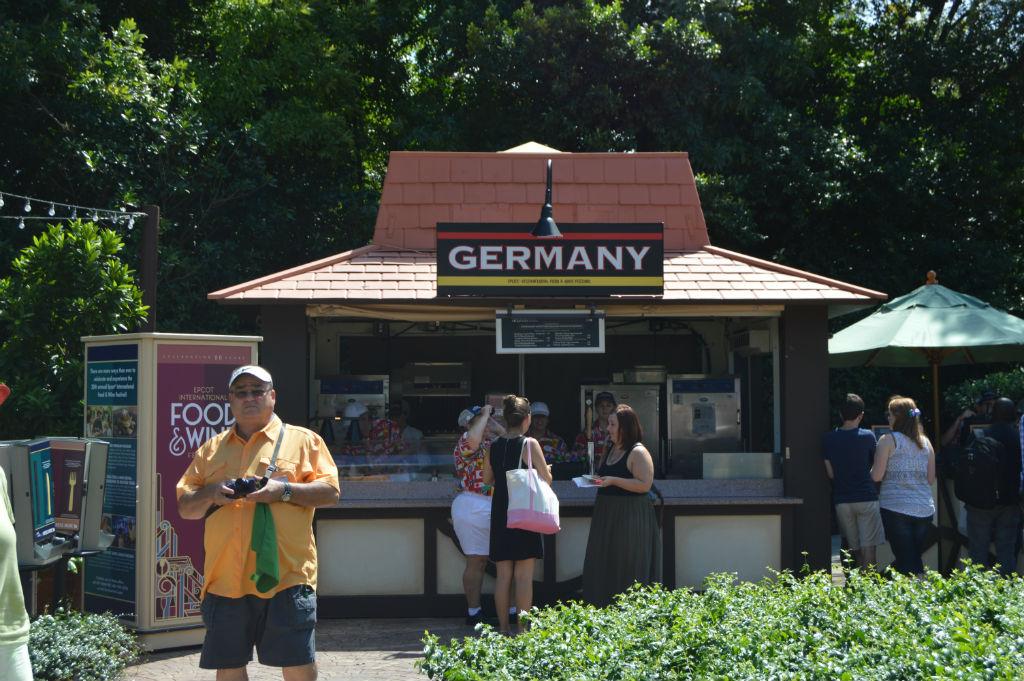 Germany Kiosk - epcot food & wine