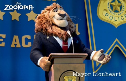 ZOOTOPIA – MAYOR LEODORE LIONHEART,
