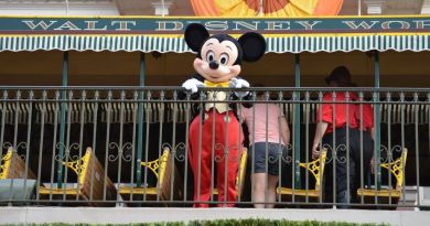 Mickey Mouse - Train Station