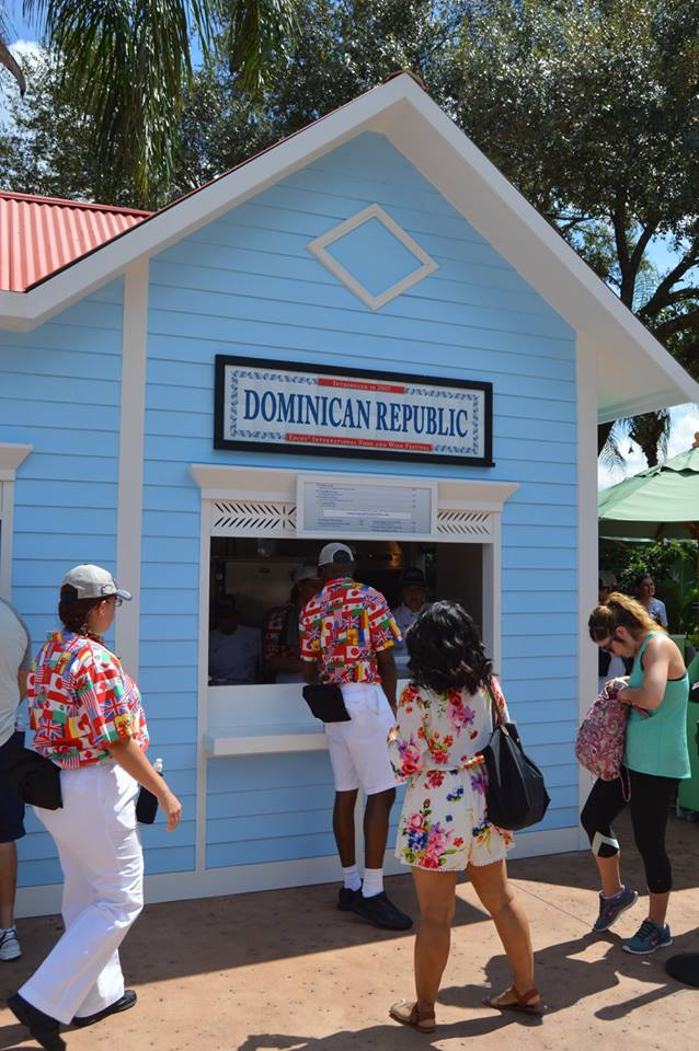 epcot food & wine photo tour 2015 - dominican republic