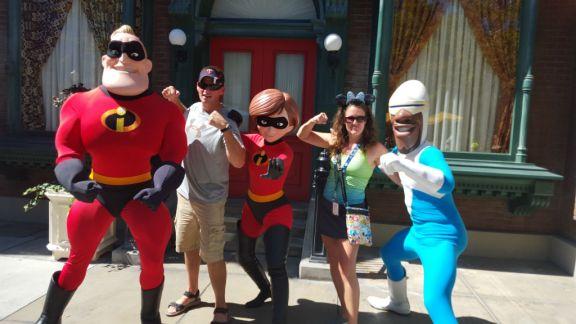 The Incredibles - Disneyland