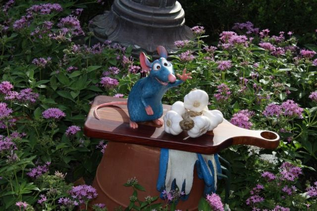 Wordless Wednesday- Remy - epcot food & wine 2015 Remy's Hide & Squeak
