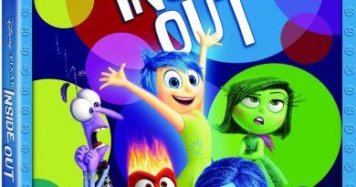 Inside Out Bluray Combo Art
