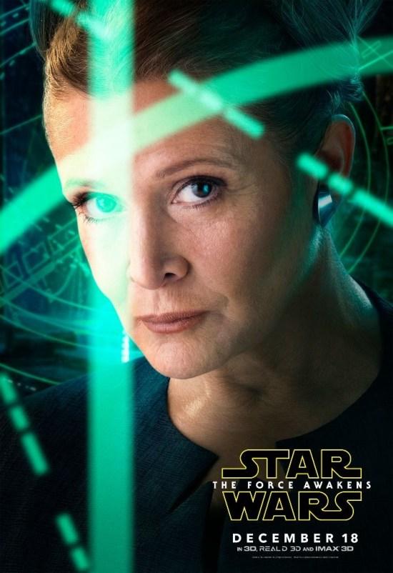 Leia Star Wars TFA