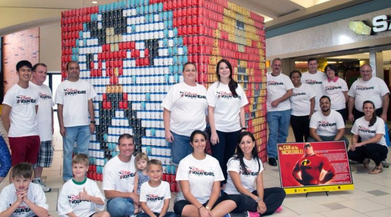 disney voluntear canstruction