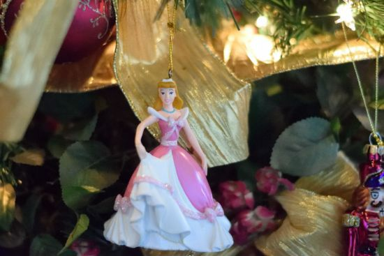 Cinderella tree ornament